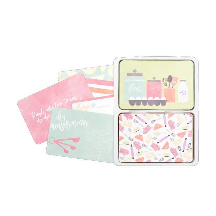 Project Life Recipe Card Value Kit
