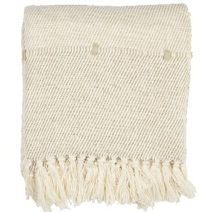 Living Space Alex Loop Stripe Throw