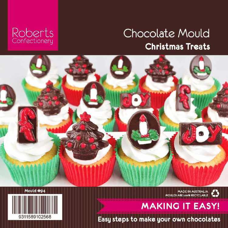 Roberts Confectionery Xmas Treats Chocolate Mould