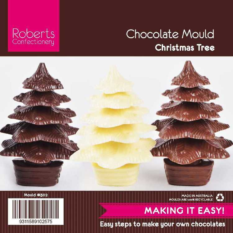 Roberts Confectionery Xmas Tier Tree Chocolate Mould
