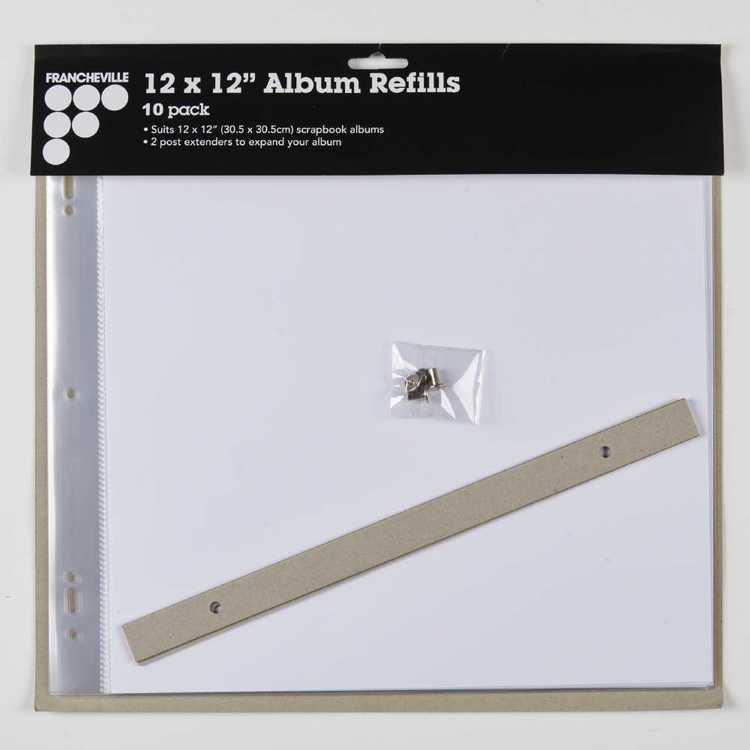 Francheville 10 Pack Album Refill