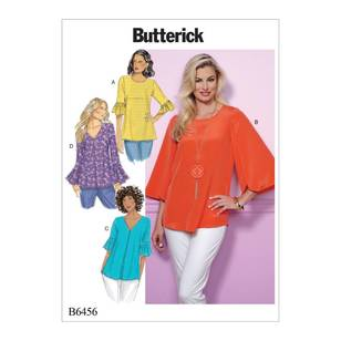 Butterick Pattern B6456 Sleeve Tops