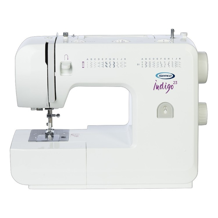 Semco Indigo 23 Sewing Machine White