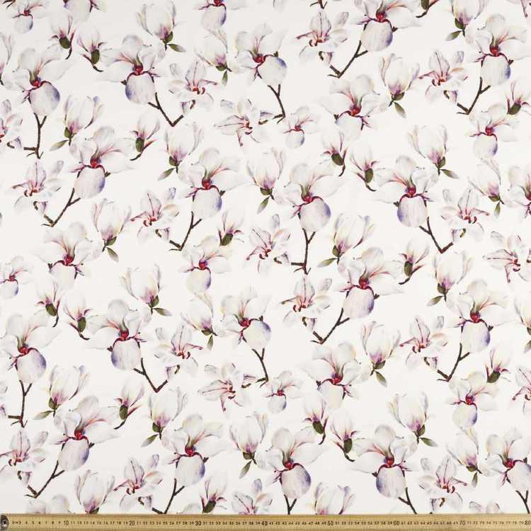 Many Magnolias Printed Rayon