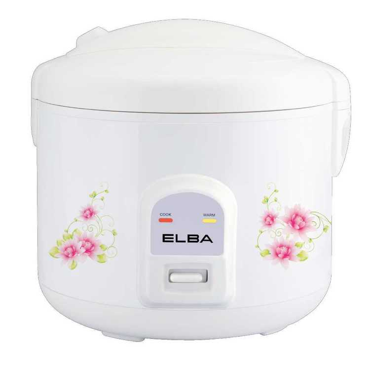 Elba ERC-E1831(WH) Jar Rice Cooker
