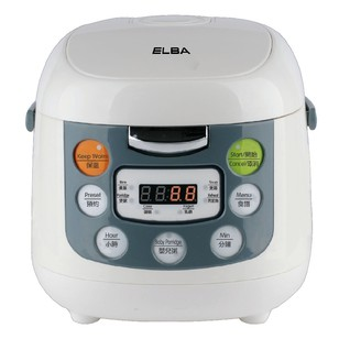 Elba ERC-E1060(WH) Rice Cooker