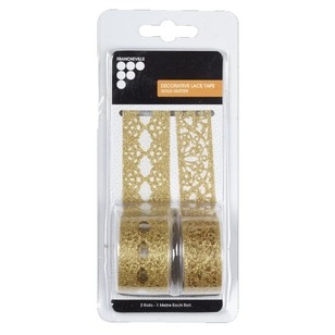Francheville Glitter Decoration Lace Tape