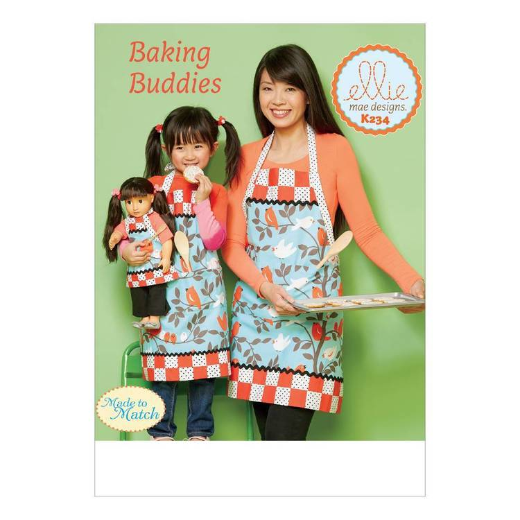 "Kwik Sew Pattern K0234 18"" Doll Aprons"