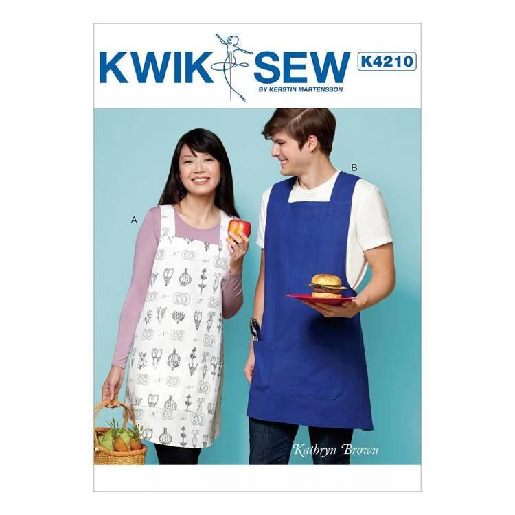 Kwik Sew Pattern K4210 Unisex Aprons