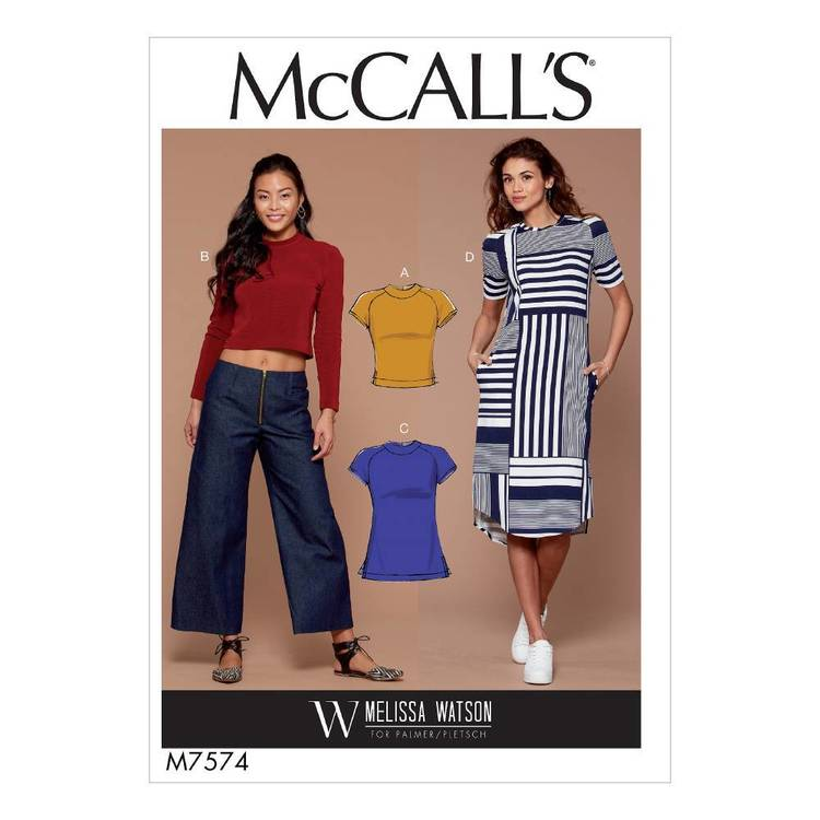 McCall's Pattern M7574 Tops
