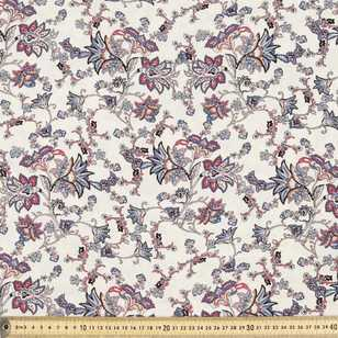 Jacobean Vines Printed Rayon