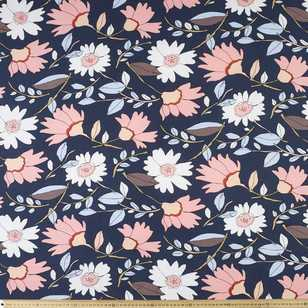 Big Flowers Printed Rayon