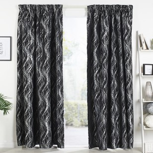 Caprice Strand Pencil Pleat Curtain