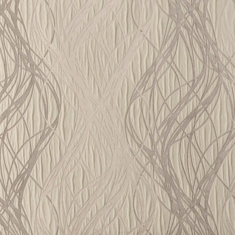 Caprice Strand Uncoated Jacquard Curtain Fabric