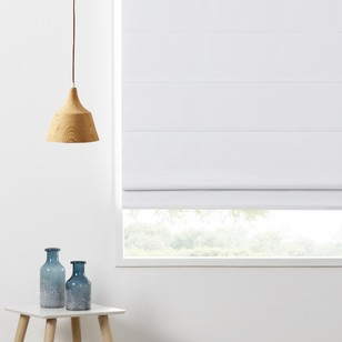 Caprice Bailey Roman Blind White