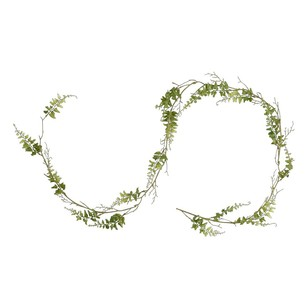 Laguna Curly Fern Garland