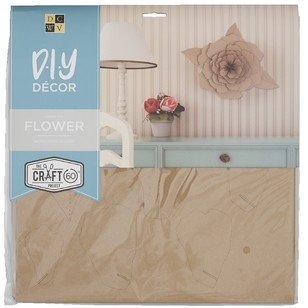 Die Cuts With A View 3D Flower Flute Kraft Paper Pads