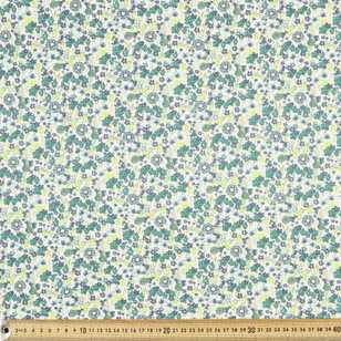 Printed Meadow 2 Cotton Spandex