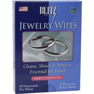 Blitz Jewelry Wipes