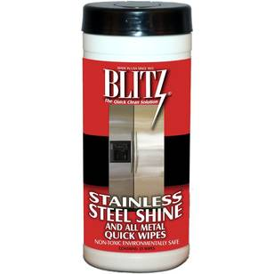 Blitz Stainless Steel And Metal Wipes