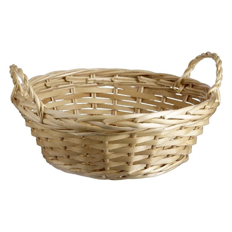 Shamrock Round Basket