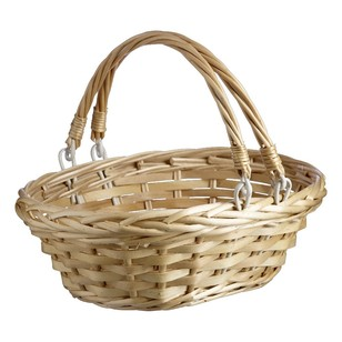Shamrock Basket With 2 Handles