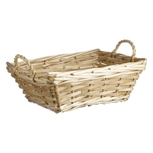 Shamrock Rectangle Basket