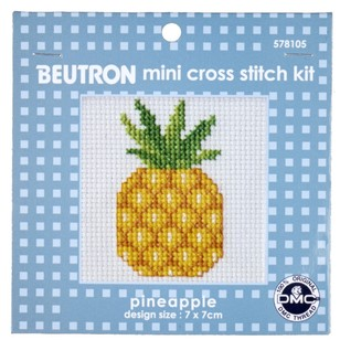 Beutron Pineapple Cross Stitch Kit