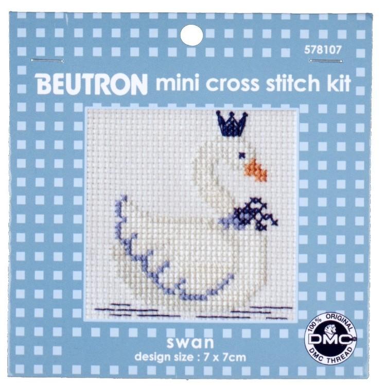 Beutron Swan Cross Stitch Kit
