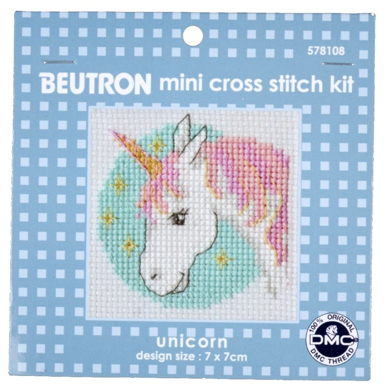 Beutron Unicorn Cross Stitch Kit