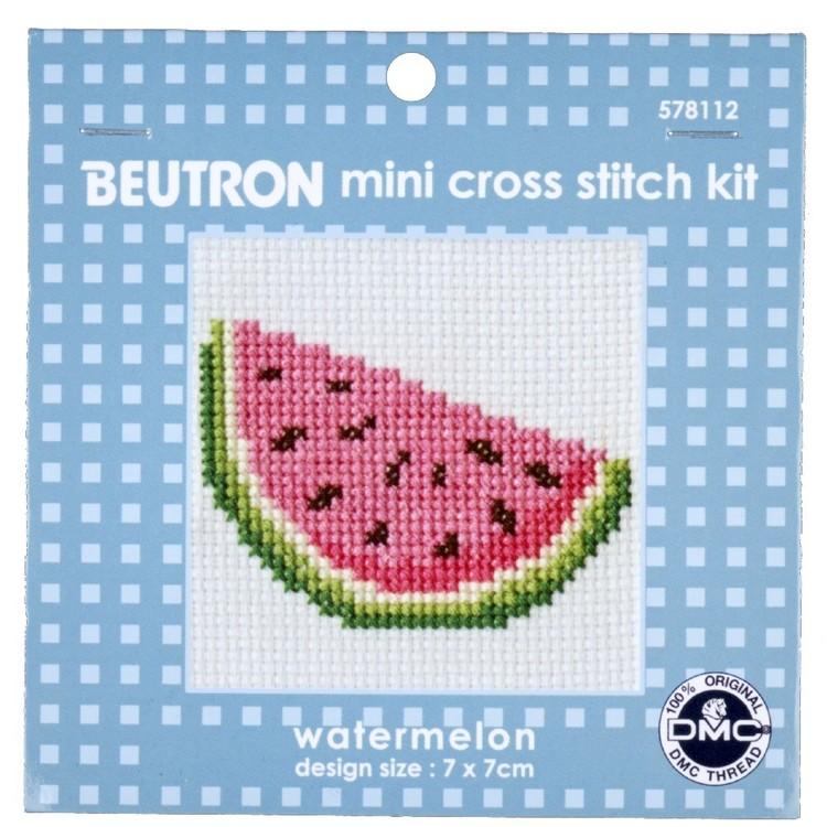 Beutron Watermelon Cross Stitch Kit