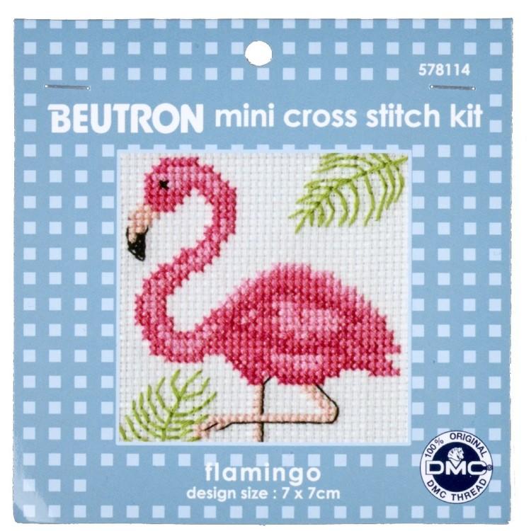 Beutron Flamingo Cross Stitch Kit