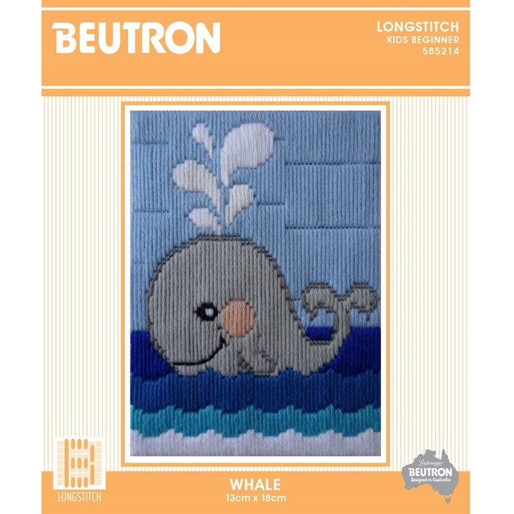 Beutron Whale Long Stitch Kit
