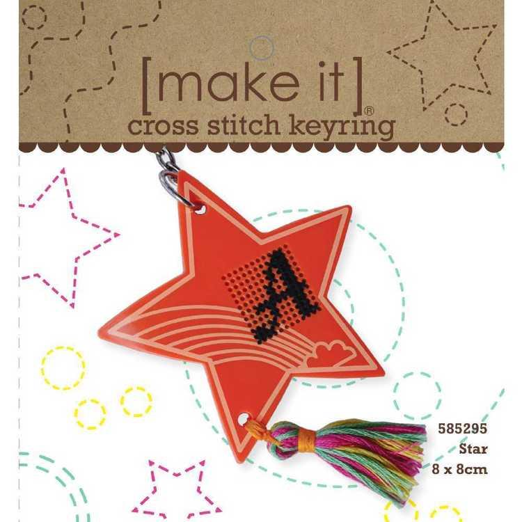 Make It Star Cross Stitch Kit