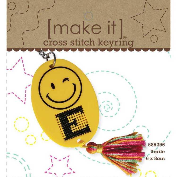 Make It Smiley Cross Stitch Kit