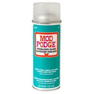 Birch Mod Podge Plaid Pearlized Spray Sealer