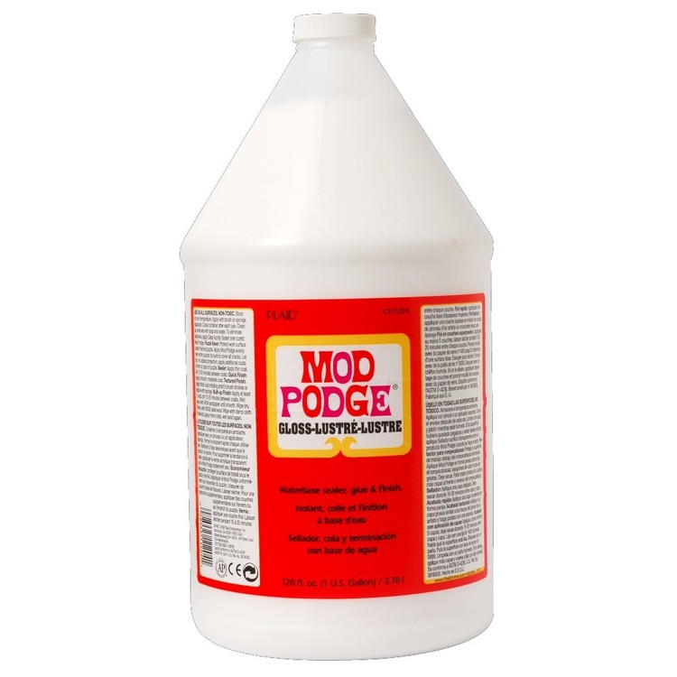 Birch Mod Podge Plaid Gloss Gallon