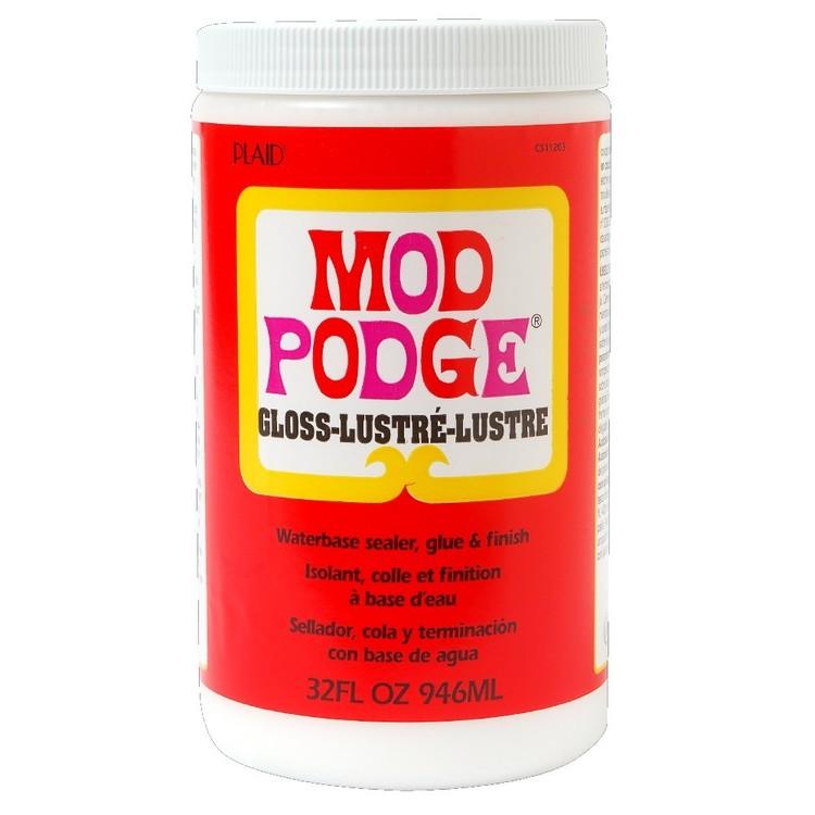 Birch Mod Podge Plaid Gloss
