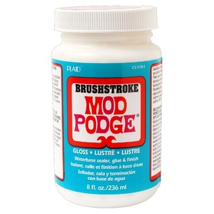 Birch Mod Podge Brushstroke Gloss