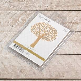 Couture Creations - Anna Griffin GoPress Summer Tree Hot Foil Stamp