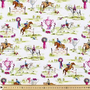Equestrian Printed Cotton Spandex
