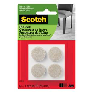 Scotch Round Felt Pads