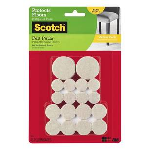 Scotch Felt Pads Value Pack