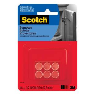 Scotch Rubber Bumpers