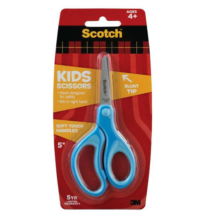 Scotch Soft Touch Kids Scissors Blue
