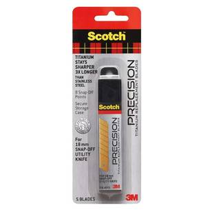 Scotch Titanium Utility Knife Refill