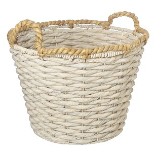 Living Space Kai Round Twisted Weave Basket