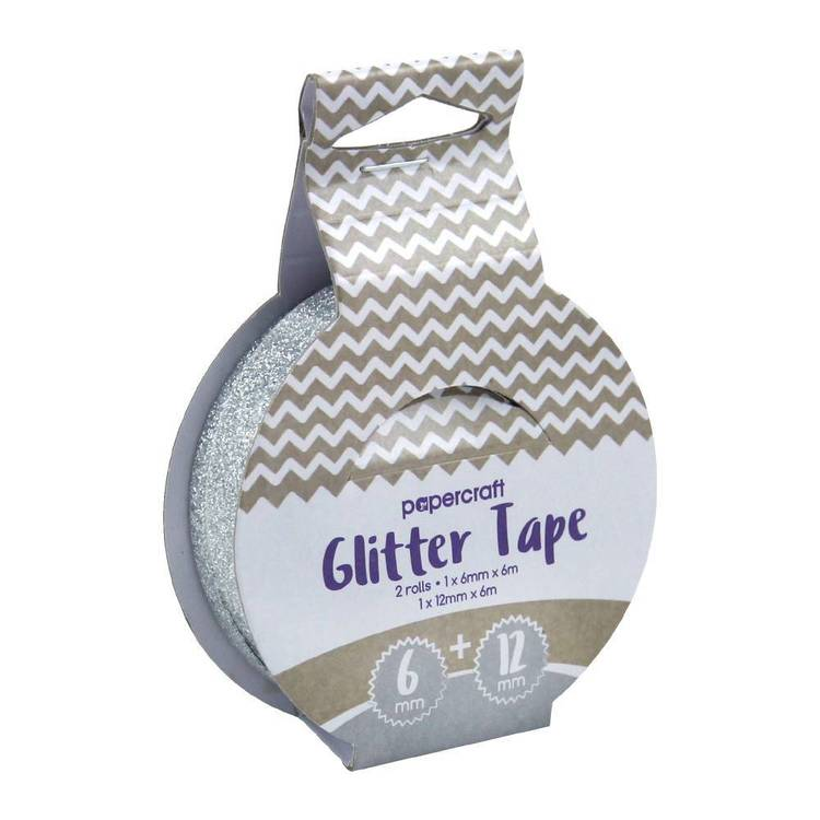 Papercraft Double Sided Glitter Adhesive Tape