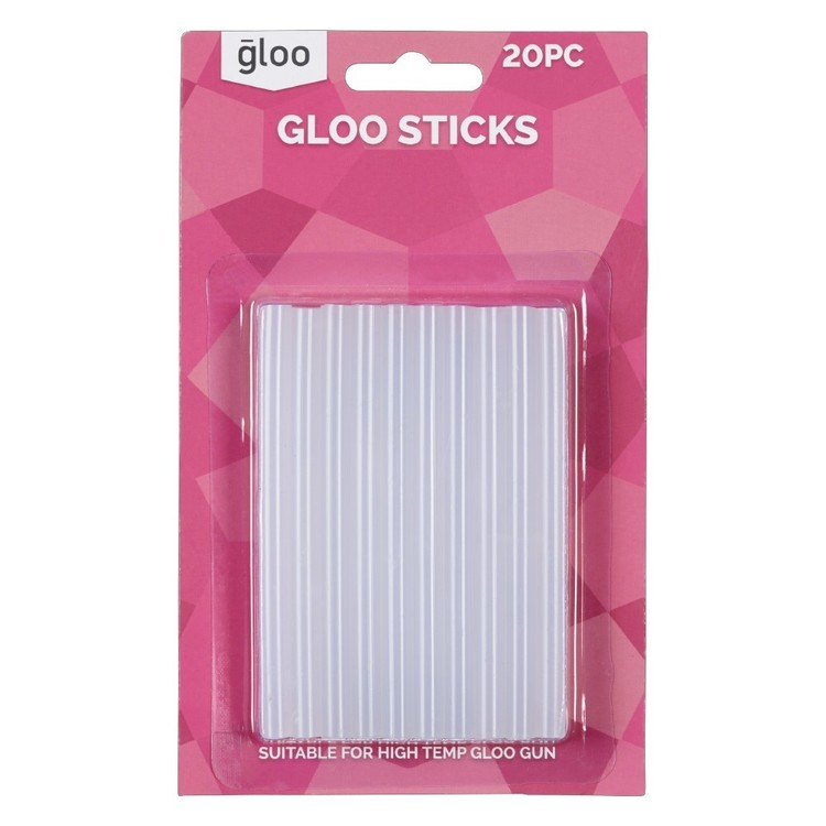 Gloo High Temperature Glue Sticks