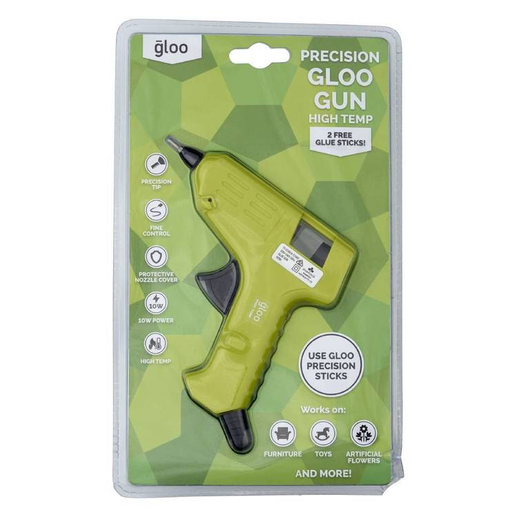 Gloo High Temperature Precision Tip Glue Gun